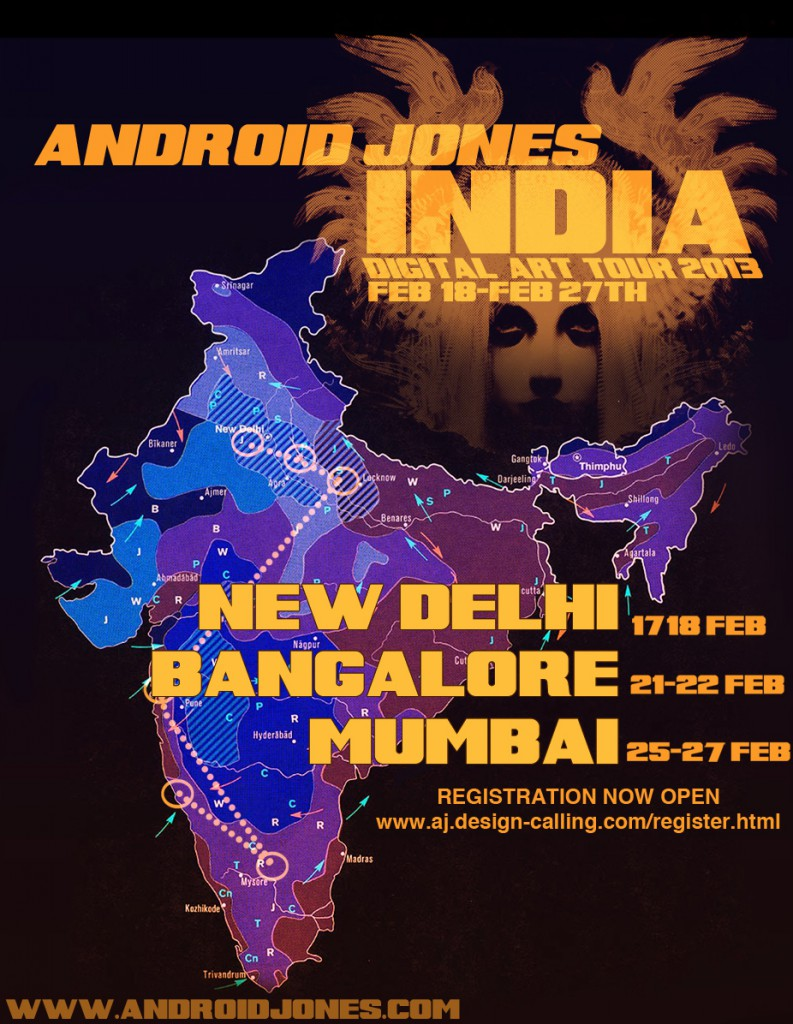 Digital Art Tour • India