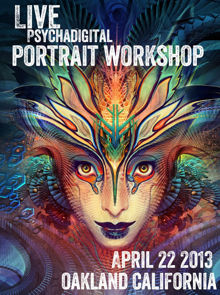 Digital Portrait Workshop • April 22 • Oakland California