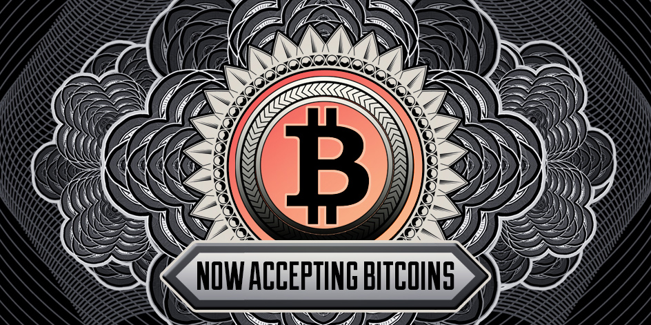 Now Accepting Bitcoins • Free Bitcoin Badge Art